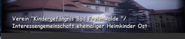 Kindergefängnis Bad Freienwalde